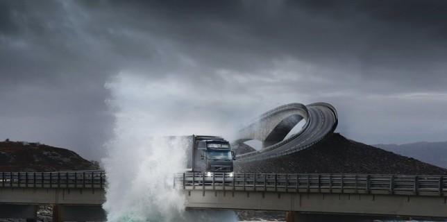 Dangerous and Beautiful Road- Atlantic Ocean Road, Norway
